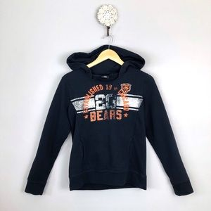 Chicago Bears Distressed Style Hoodie NFL Brand